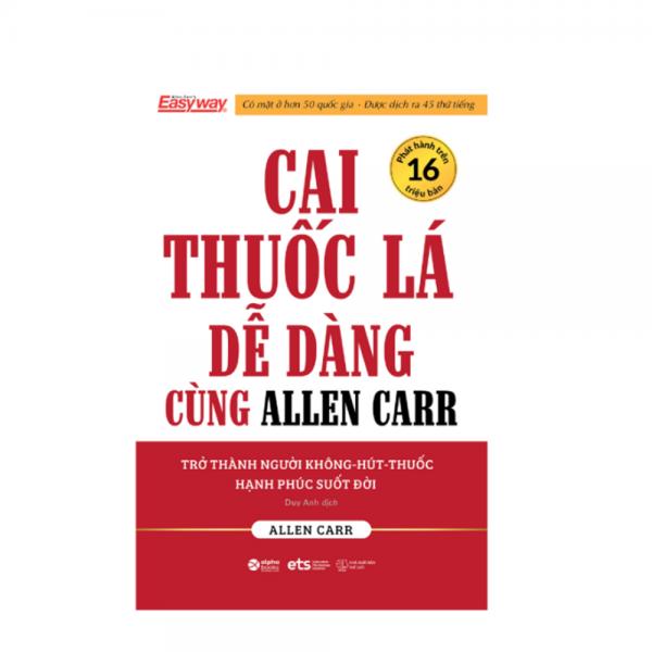 Cai thuốc lá dễ dàng cùng Allen Carr