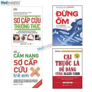 Combo sách Bác sĩ gia đình (4 cuốn)