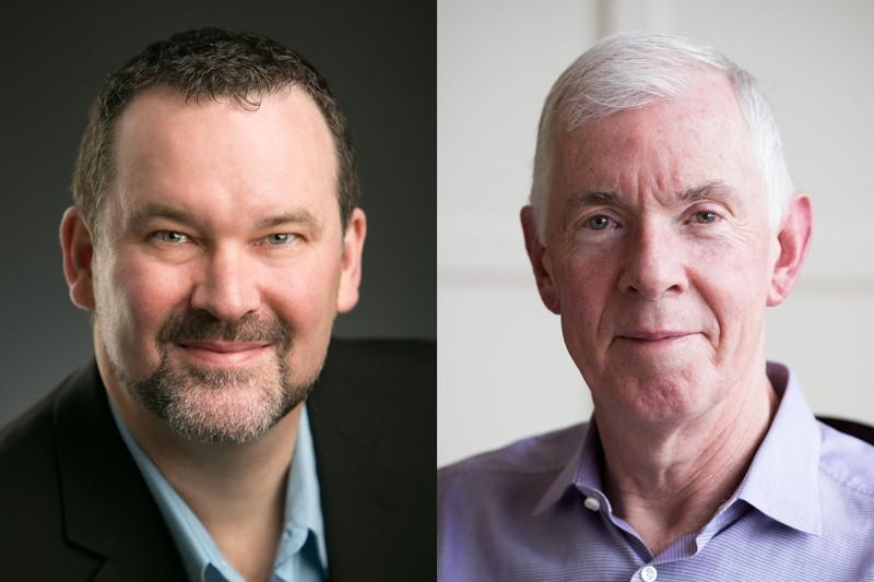 Ian MacLachlan (trái) và Thomas Madden (phải). Nguồn: Ian MacLachlan; Acuitas Therapeutics
